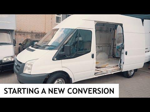 STARTING A NEW VAN! 01 Transit Camper Van