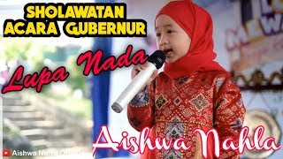 AISHWA PERFORM SHOLAWATAN LUPA NADA