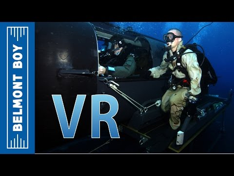 SDV VR Experience - Undersea SEAL Delivery Vehicle (Simulation / Gameplay)