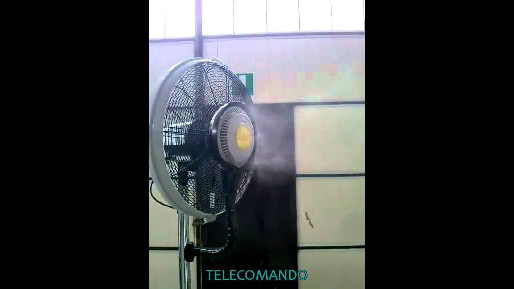 Ventilatore Ad Acqua Nebulizzata.Ventilatore Nebulizzante Raffrescamento Evaporativo