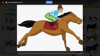 Explore feature for images : clipart in Google Slides