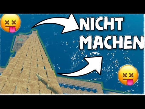 *WTF* WARNT ALLE YOUTUBER VOR DIESEM BUG! - Raft [Deutsch/German]