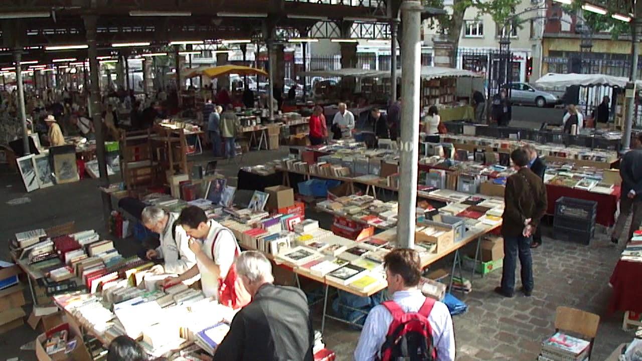 marché du livre georges brassens