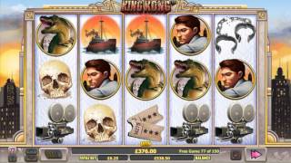 Big Slot Win - 150!!! free spins in King Kong online slot