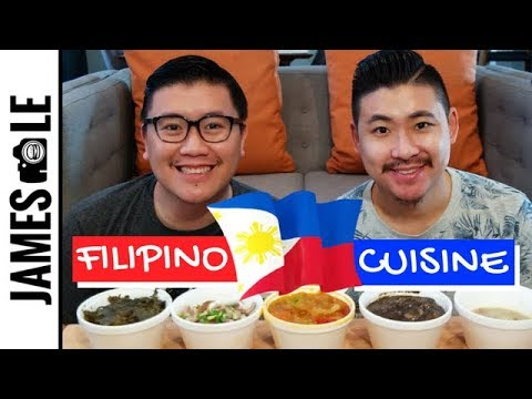 FILIPINO FOOD MUKBANG - DINUGUAN, PAPAITAN, KILAWIN, LAING, AND MORE!