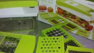 Ganesh Quick Dicer Demo (Vegetable cutter)