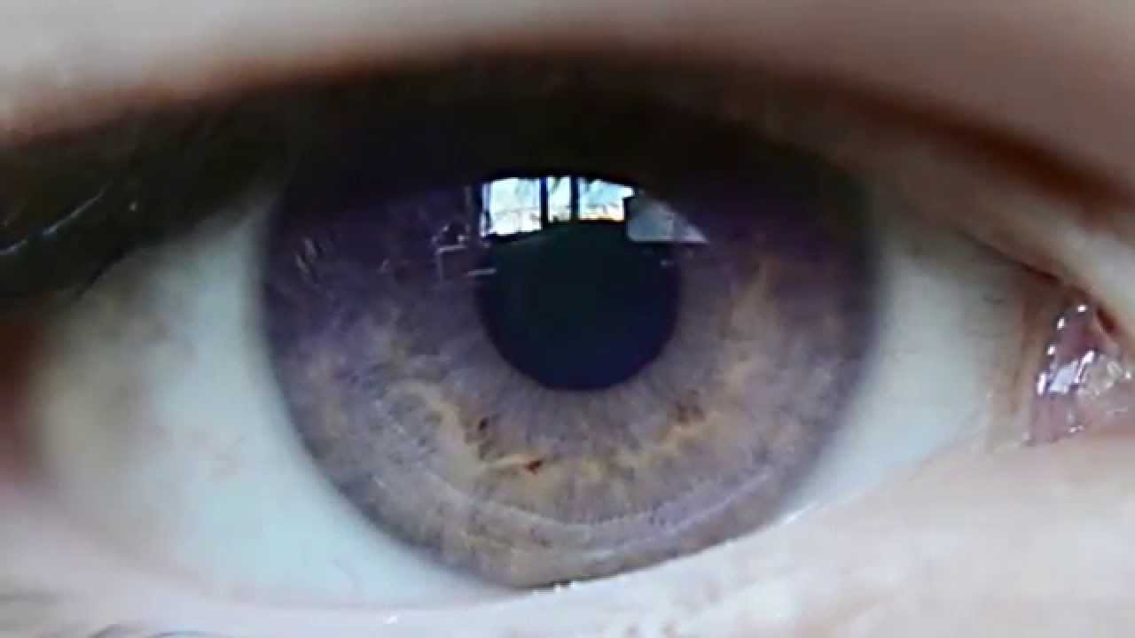 slow motion natural purple eyes ojo violeta natural