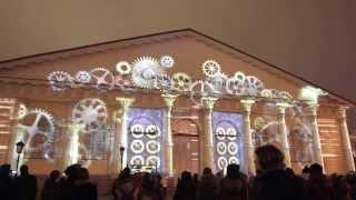 Новый год 2014 Лазерное шоу  Москва