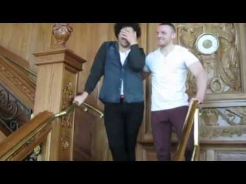 Titanic Belfast Leaving Staircase Surprise