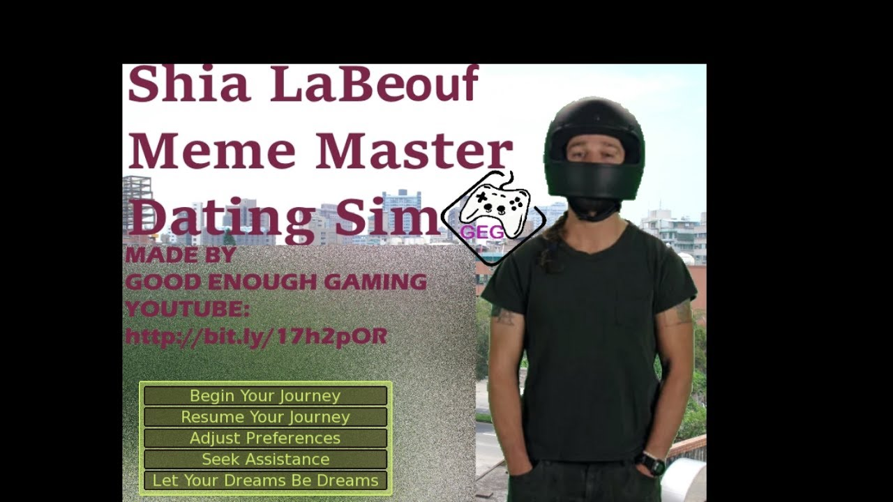 Shia labeouf dating game