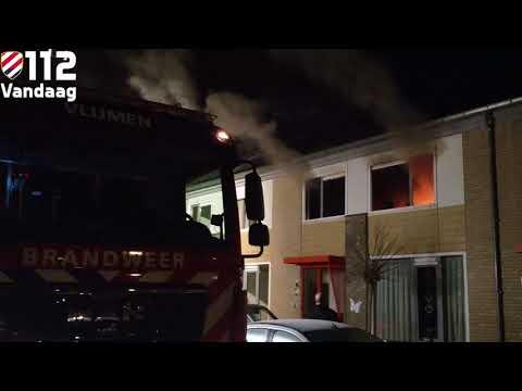 Buurman ontdekt brand in slaapkamer in Vlijmen