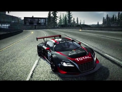 Need for Speed World Audi R8 Gameplay Trailer Francais