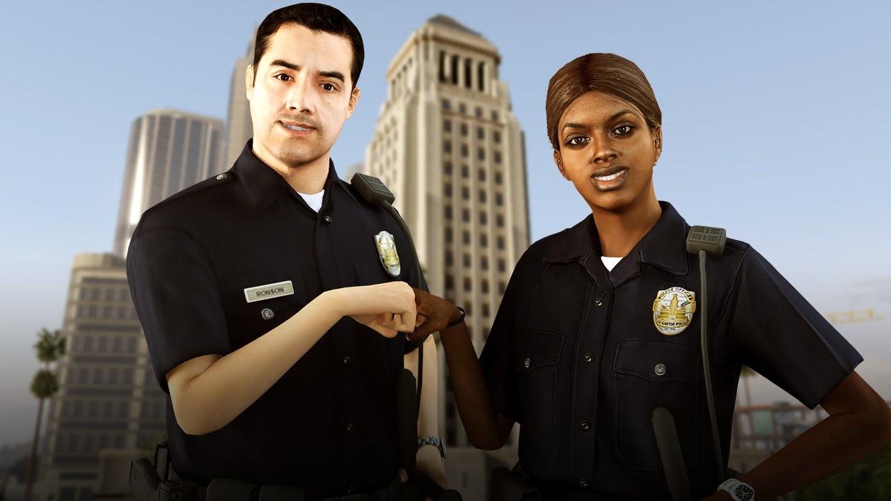 Police Officer Girl Wallpaper Gta V Thug Police Vs Armed Rioters Police Mod Lcpdfr Gta