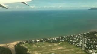 【オーストラリア】 ケアンズ国際空港離陸 Cairns International Airport takeoff (2017.3)