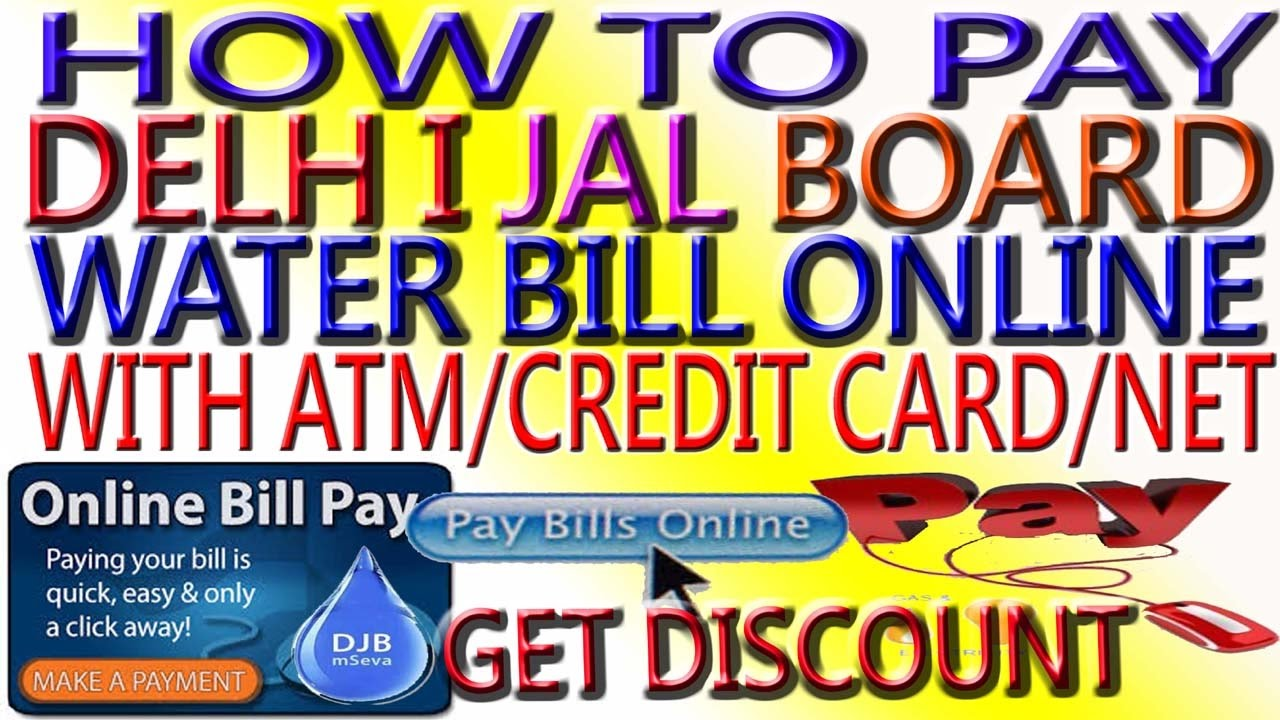 How to Pay Water/Electricity/MTNL Bill Online & get cashback Best Way to  Pay Water Bill online Hindi