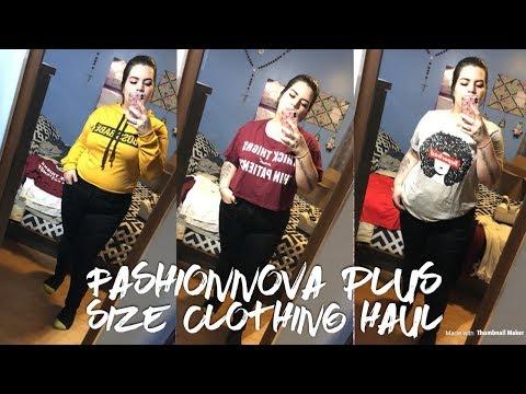 FashionNova Try-On Clothing Haul   Plus...