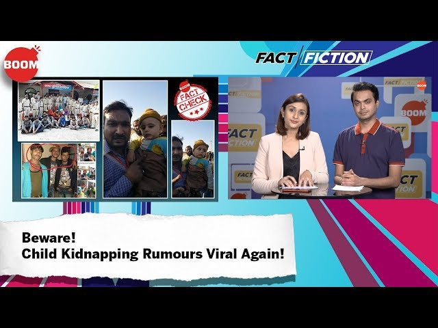 Beware! Child Kidnapping Rumours Viral Again!