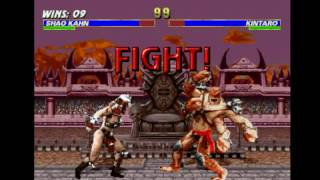 Mortal Kombat Trilogy (PSX) - Longplay as Shao Kahn