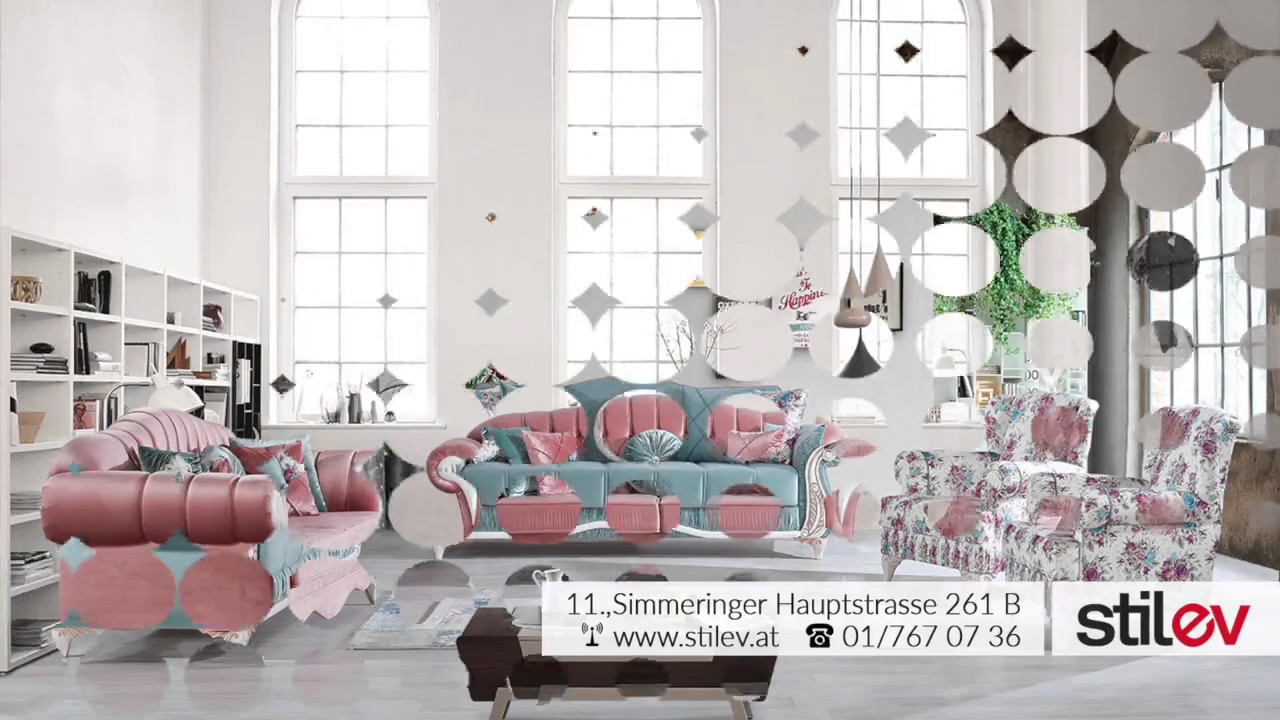 stilev m bel online m bel shop wien m bel design g nstig qualitativ youtube. Black Bedroom Furniture Sets. Home Design Ideas