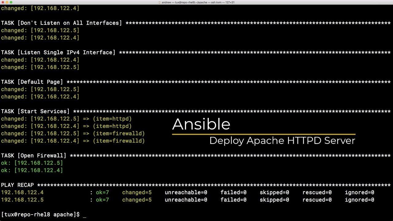Apache http server tutorial