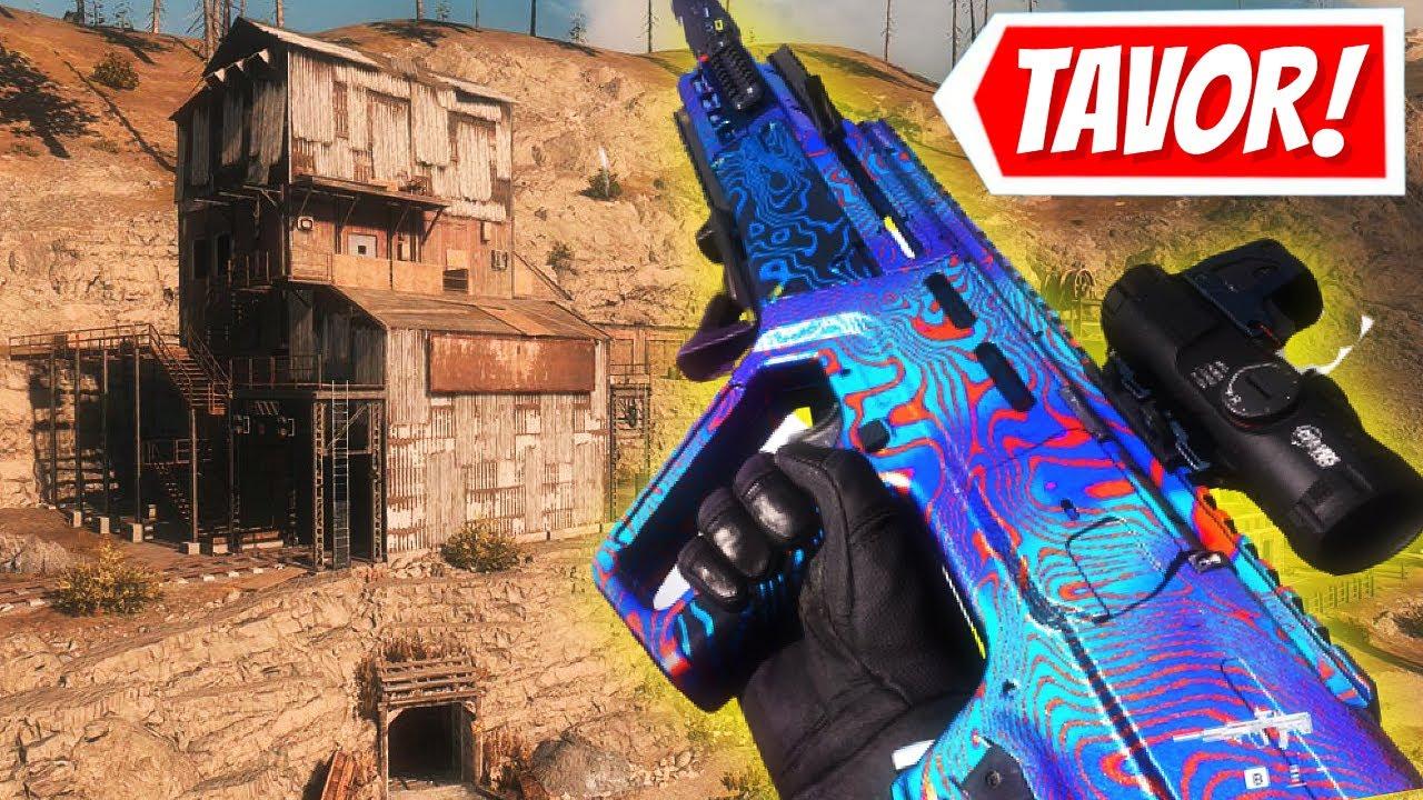 The Tavor RAM7 Class is not fair! (Cold War Warzone)