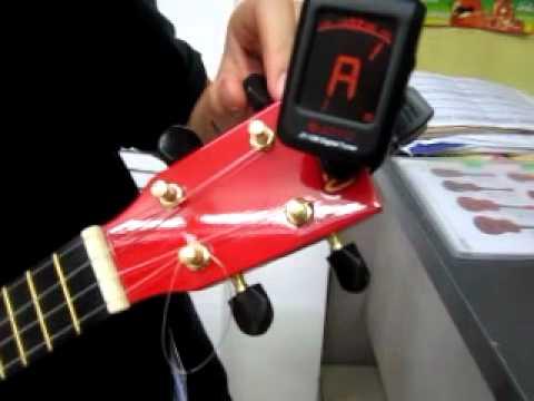 วิธีตั้งสาย ukulele