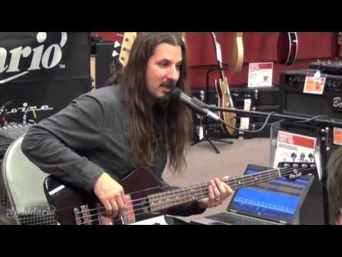 D'Addario: Bryan Beller Bass Clinic - Drop Tuning Method for Dethklok