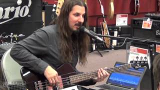 D'Addario: Bryan Beller Bass Clinic - Drop Tuning Method for Dethklok