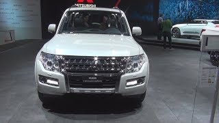 Mitsubishi Pajero DID Diamond AT (2018) Exterior and Interior