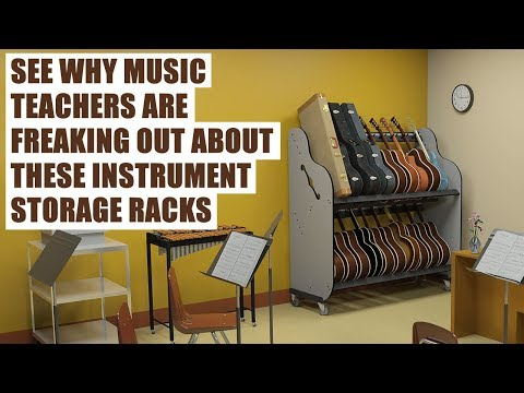 Instrument Storage Products for Classrooms & Music Teachers