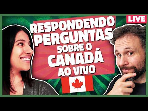 RESPONDENDO PERGUNTAS SOBRE O CANADÁ AO VIVO - LIVE CANADÁ DIÁRIO
