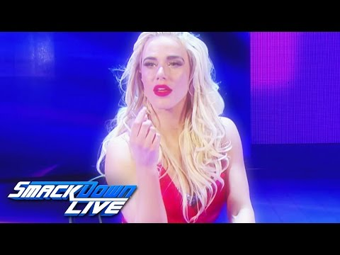Lana joins the blue brand: SmackDown LIVE,...