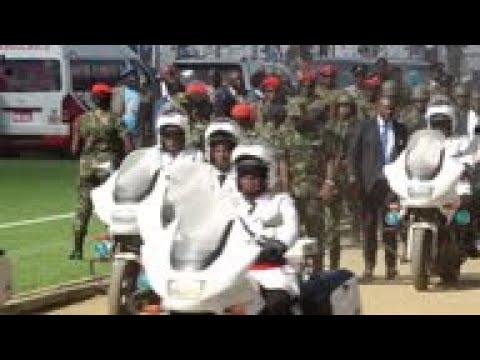 Malawi President Mutharika Inaugurated