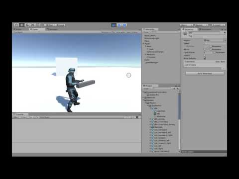 Third Person Shooter E11: Animating your model - Running