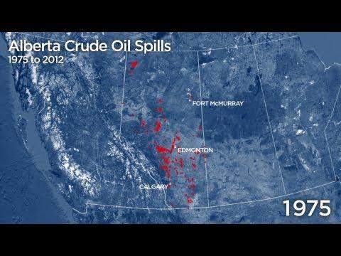 Crude Awakening: 37 years of Alberta crude oil spills