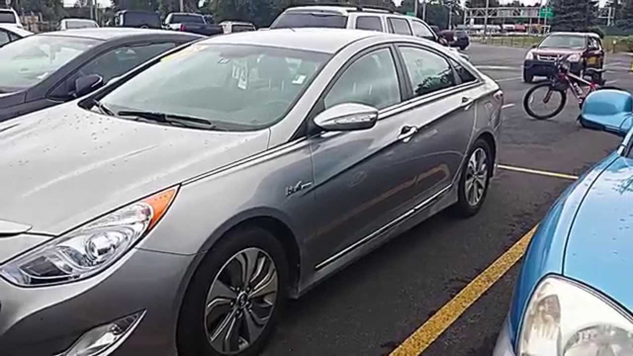 Captivating 2013 Hyundai Sonata Limited Hybrid (Blue Drive Technology) Review   YouTube