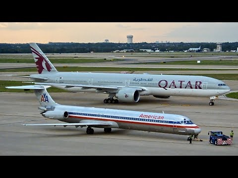 Dallas/Fort Worth (DFW) Spotting – Qatar/Sun Country – Boeing 787-8 & More – Spotting Series Ep. 211