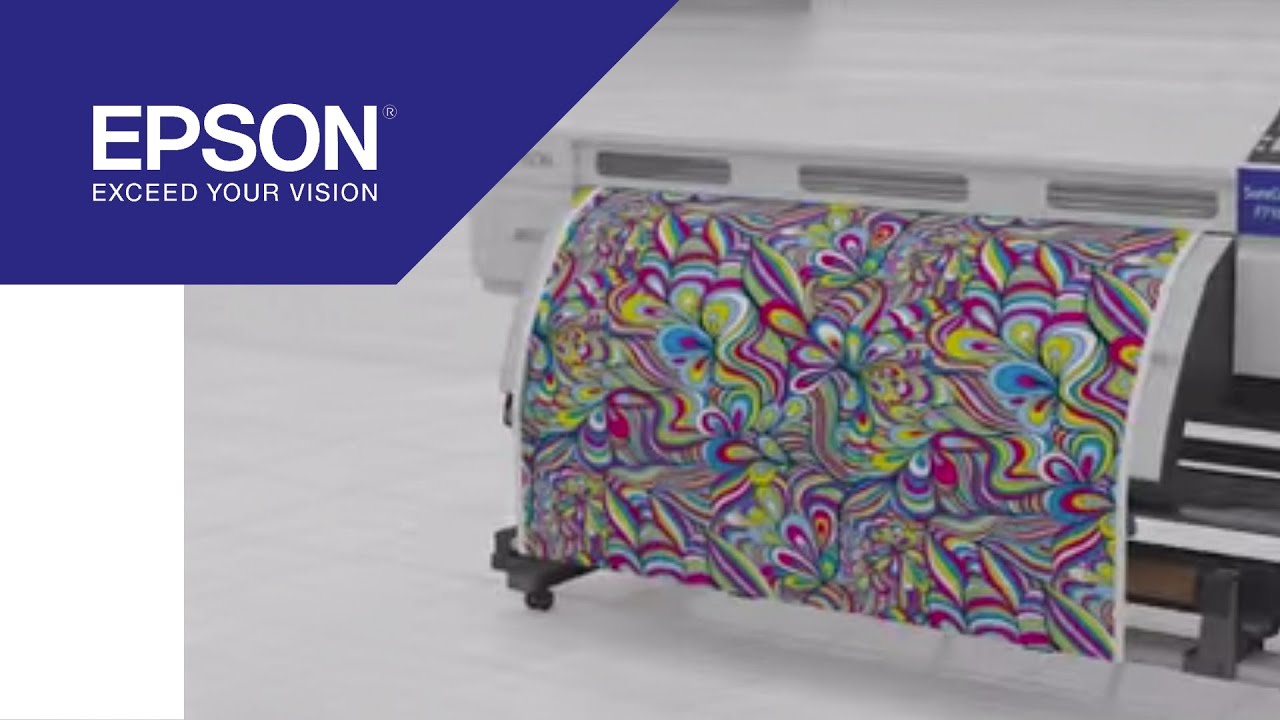 29e62244a SureColor SC-F7100: Dye-sublimation printer for roll-to-roll textiles    Epson
