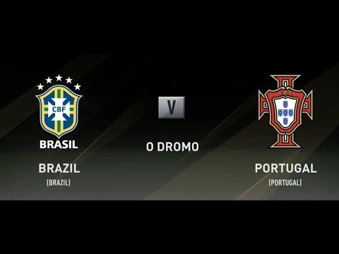 Brazil vs Portugal Fifa 18 Xbox One PS4 Full Match Gameplay