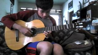 Bagas HP-Kiss the Rain(Yiruma) Classical Guitar