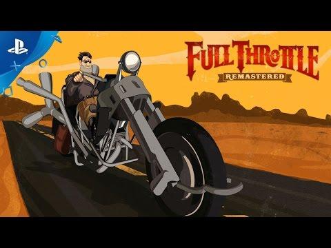 Full Throttle Remastered - Launch Trailer | PS4