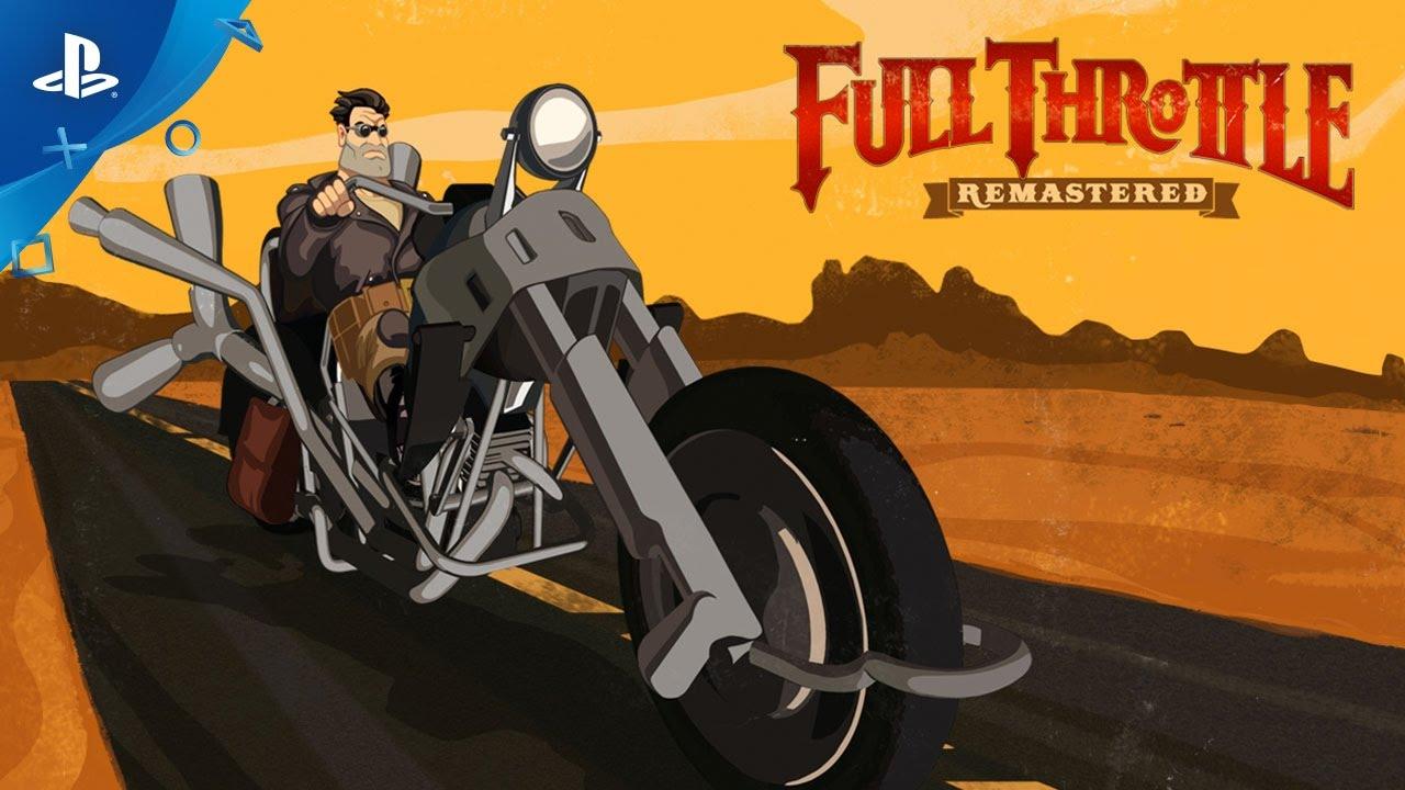 Classic adventure game Full Throttle Remastered arrives
