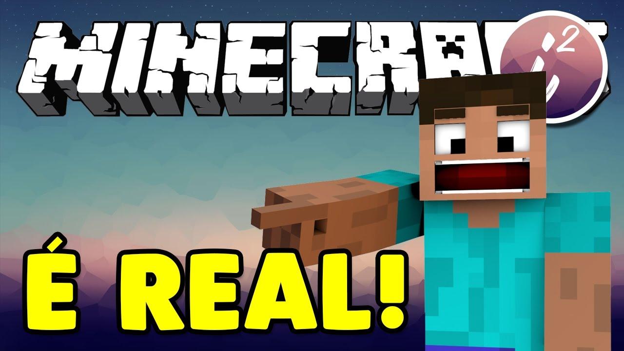 Minecraft é REAL? Vivemos Em Uma Simulação?