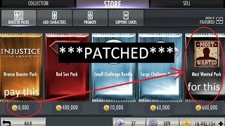 Repeat youtube video (PATCHED, SEE DESCRIPTION) Injustice Mobile on Android (glitch): Multipacks and cheap packs