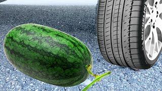 PHD | Cán Mọi Thứ Bằng Ô Tô | Troll A Zai Và Cái kết | EXPERIMENT: WATERMELON VS CAR