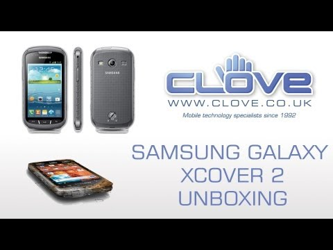Samsung Galaxy Xcover 2 Unboxing