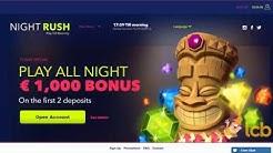 NightRush Casino Video Review