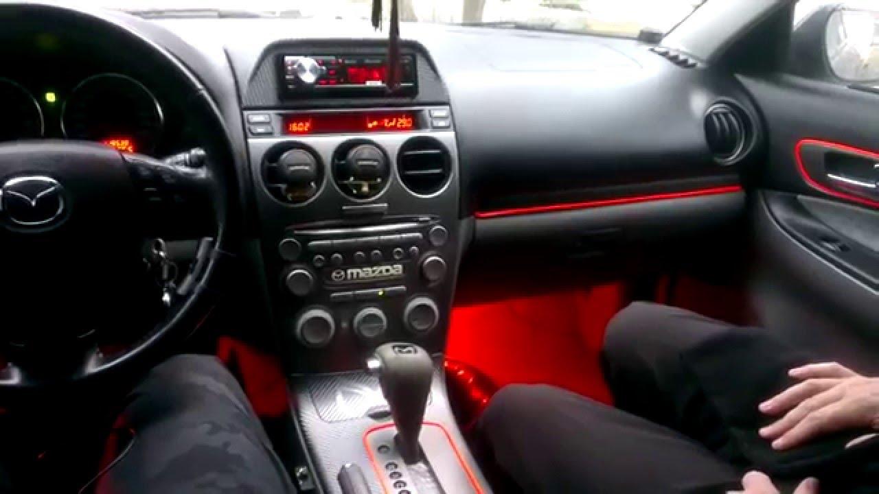 Подсветка в машину своими руками
