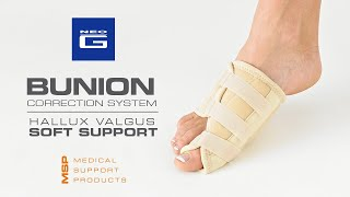 Neo G Bunion Correction System — Hallux Valgus Soft Support // How to Apply Guide