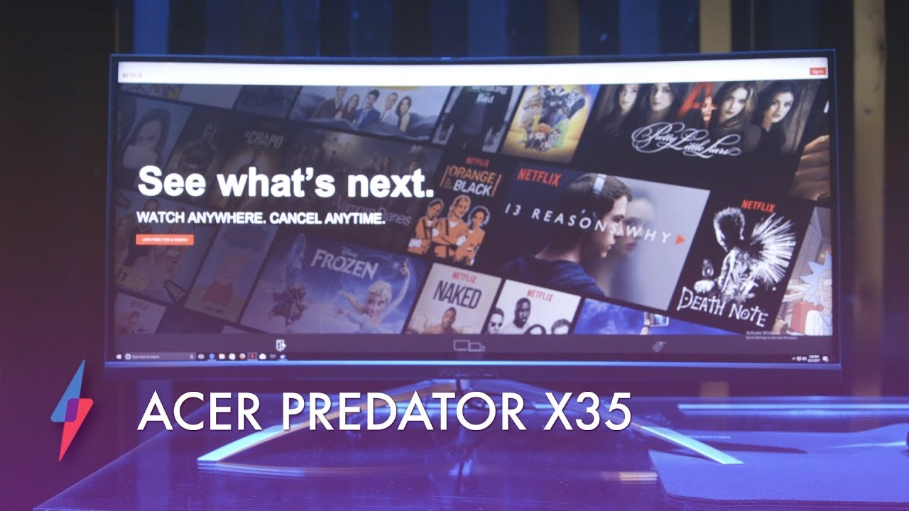 Acer Predator X35 Ultrawide Monitor - Hands On | Trusted Reviews